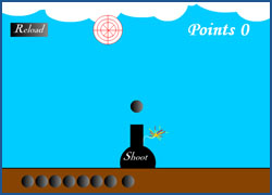 Math Cannon - Flash Game