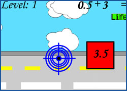 Road Shooter - Math Game